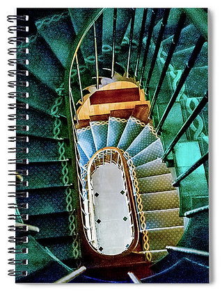 Spiral Staircase In Joigny Notebook