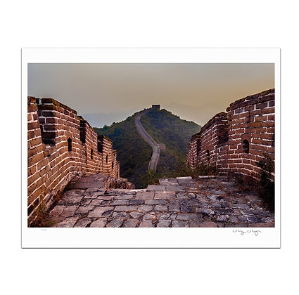 Tower to Tower At The Great Wall Print