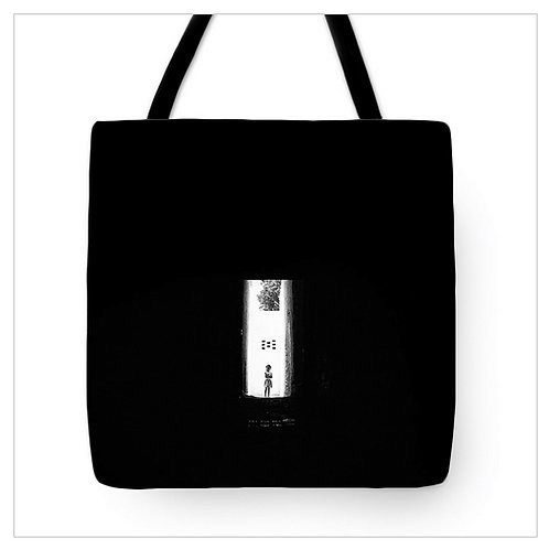 Shy girl at the Church Tote Bag