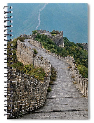 Down The Great Wall Notebook