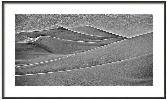 Death Valley Dunes Framed