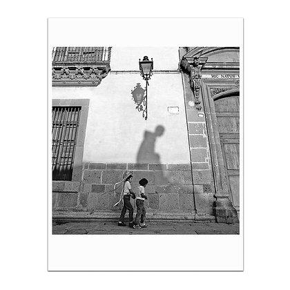 In The Shadow of Ignacio Allende Print