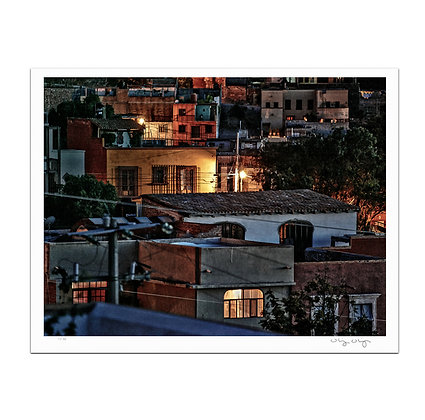 Allende At Night Print