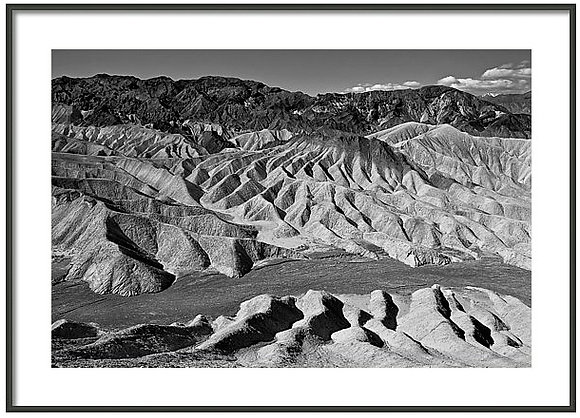 Zabriskie Point Framed
