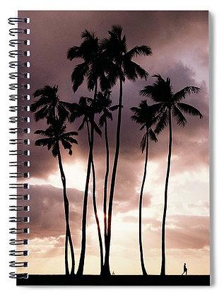 Waikiki Palms Notebook