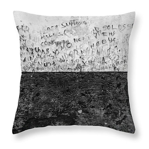 Writing on the Wall Pillow