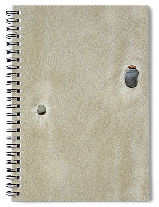Pebbles In The Sand 4 Notebook