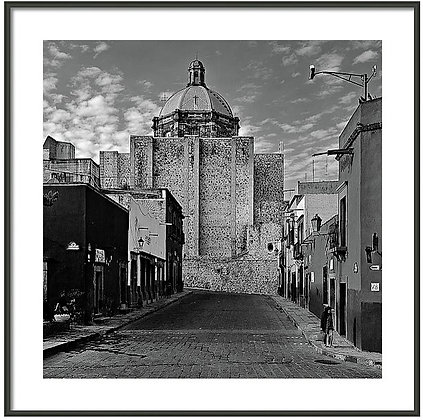 Solitary Street Framed