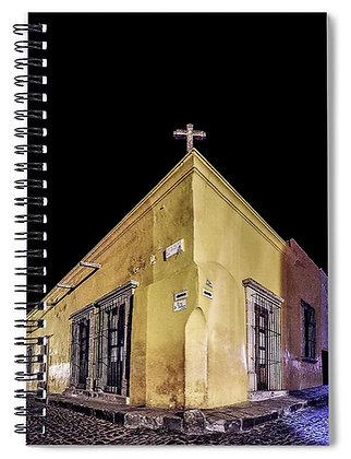 Corner of Hospicio And Salano Notebook