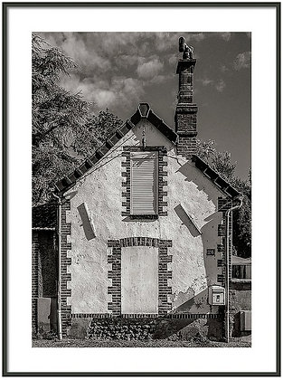 Old Town Joigny 3 Framed