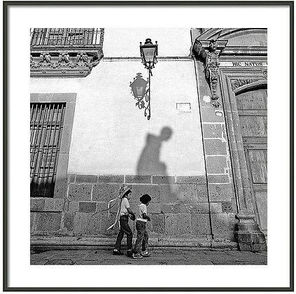 In The Shadow of Ignacio Allende Framed