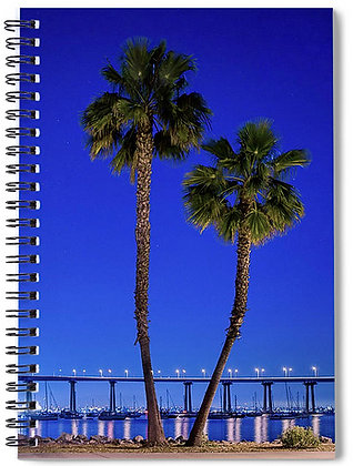Late Night At Coronado Bridge Notebook