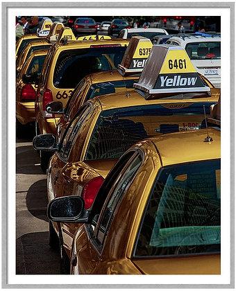 Taxi Line Custom Framed