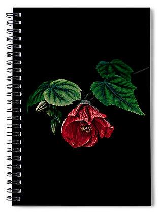 Hibiscus In Repose Notebook