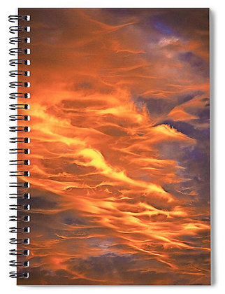 Fire In The Sky Notebook