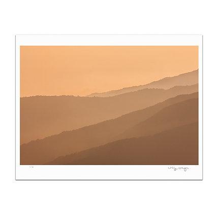 Malibu Ridges Print