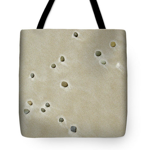 Pebbles in the Sand Tote Bag