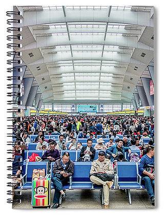 Beijing Train Station Notebook