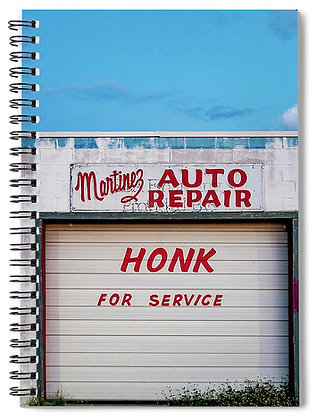 Honk For Service Notebook