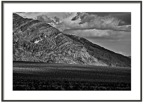 Plateau At Death Valley Framed