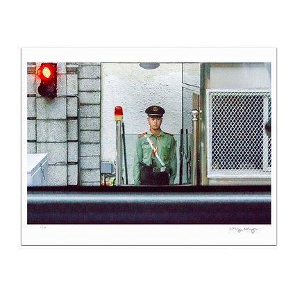Shanghai Policeman Print
