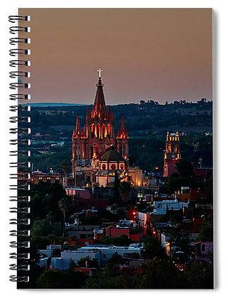 Vista Of The Paroquia Notebook