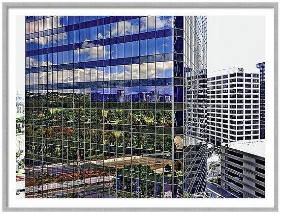 Century City Glass Custom Framed