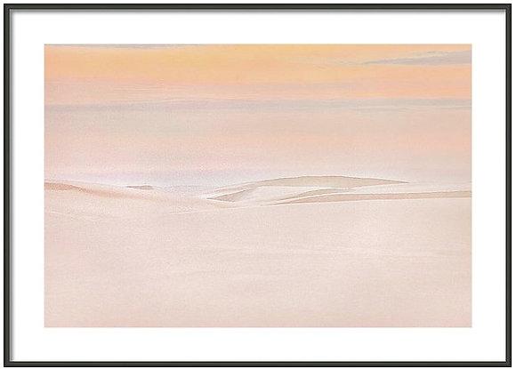Dawn At White Sands Framed