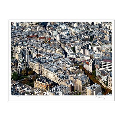 Paris From Above Print
