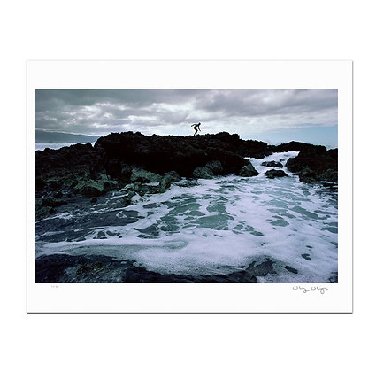 Sharks Cove Lava Print