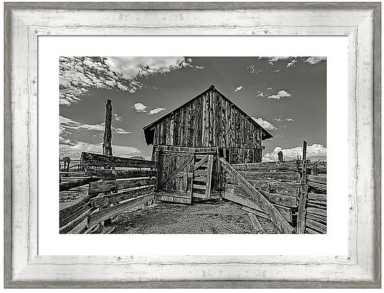 Emery Corral 3 Custom Framed