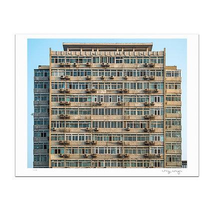 Beijing Apartment Building Print
