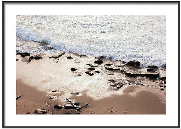 La Jolla Tide Framed