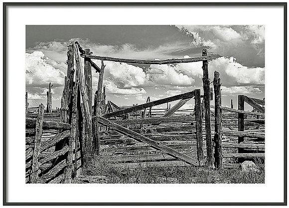 Emery Corral 2 Framed