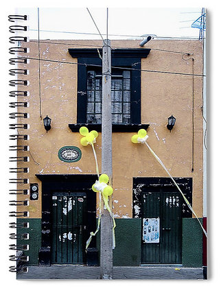 Balloons In San Antonio Notebook