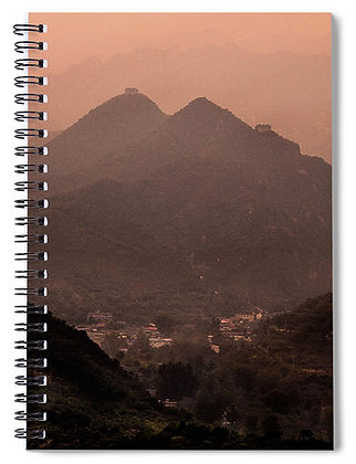 View Over Huanghuacheng Notebook