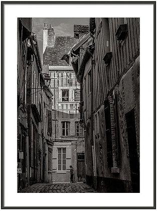 Old Town Joigny 2 Framed