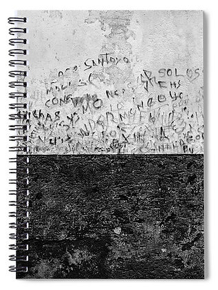 Writing On The Wall Notebook