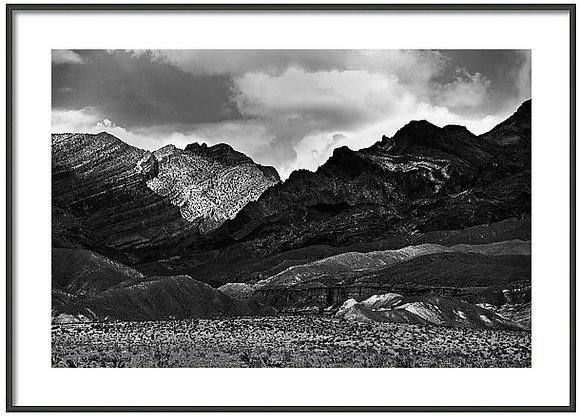 Textured Valley Framed