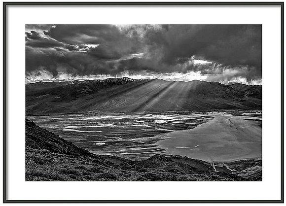 Death Valley Vista Framed