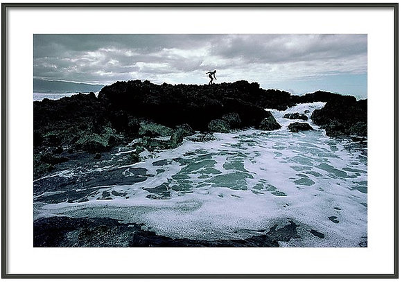 Sharks Cove Lava Framed