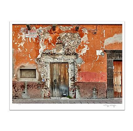 Door on Hancha Print
