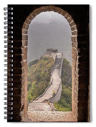 Great Wall Doorway Notebook