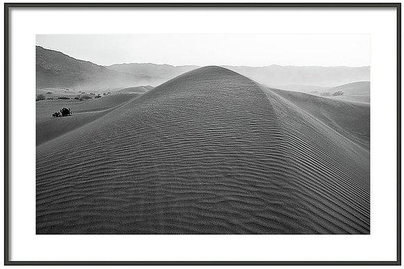 Winds At Dumont Dunes Framed