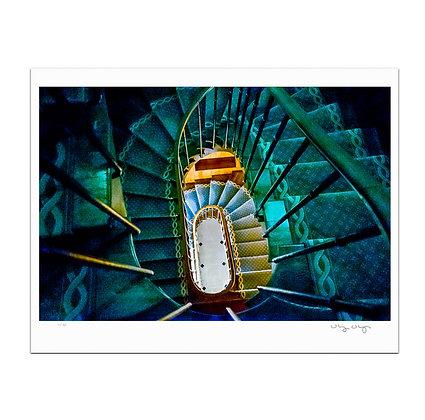 Spiral Staircase Print