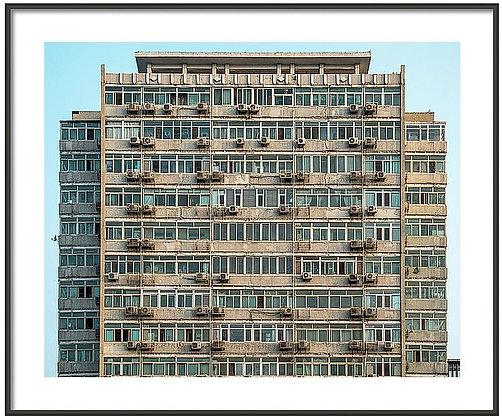 Beijing Apartment Building Framed