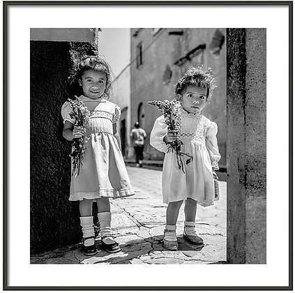 Sisters On Sunday Framed