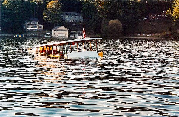 Sunken passenger ferry