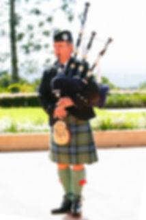 Gordon Ferguson Scottish Bagpiper Sunshine Coast Hinterland