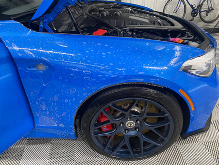 ZDD Paint Protection Film Application